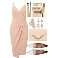 Untitled #3999 by natalyasidunova on Polyvore featuring Miss Selfridge, Stuart Weitzman, Accessorize, Repossi, Red Camel, Bobbi Brown Cosmetics, Yves Saint Laurent, Jane Iredale and Dolce&Gabbana