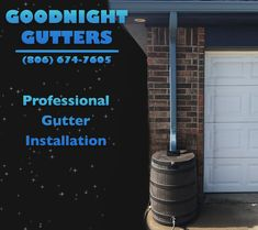 In need of a rain barrel for your gutter? Contact Goodnight Gutters today for more info!