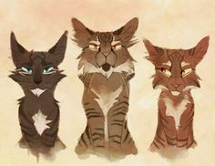 Tigerstar and his sons~