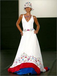 Vestidos de novia con detalles andinos