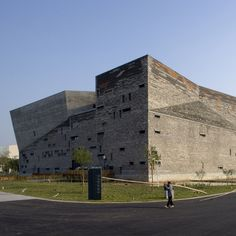 Wang Shu's Ningbo History Museum built from the remains of demolished villages
