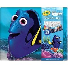 Crayola Finding Dory Creativity Kit Kids Arts and Crafts Coloring Sheets New #CreativityKitKids