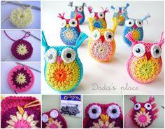 Easy Crochet Owl Pattern Watch The Video Tutorial