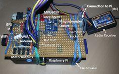 owenquad - Raspberry Pi based quadcopter with full walkthrough coding tutorial - Google Project Hosting