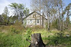 Old Finnish house
