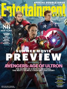 characters, the next 2 films and 1 hulking love story: http://www.ew.com/article/2015/04/08/cover-avengers-age-of-ultron?asdf  #SummerMoviePreview