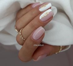 Classy Nails, Stylish Nails, Simple Nails, Trendy Nails, Hot Nails, Pink Nails, Hair And Nails, Nagellack Design, Nagellack Trends