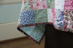 Love the idea of a quilt from Liberty fabrics - this is a king size one, which I think feels too big for me (in a traditional quilt, a modern quilt that size wouldn't be a problem), but I love the idea of a baby quilt or throw like this. Plus, those Liberty fabrics are expensive!!!