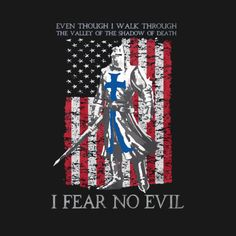 I Fear No Evil - The Crusader T Shirt - Crusader - T-Shirt | TeePublic