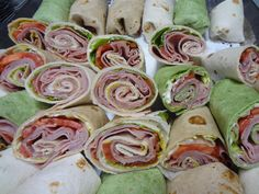 Catering by Debbi Covington Specialty Sandwiches, Recipe Of The Day, Fresh Rolls, South Carolina, Ham, Entrees, Catering, Sushi, Lettuce