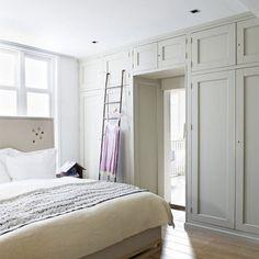 Storage above door