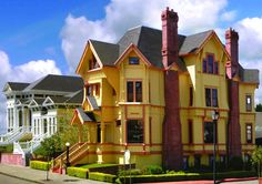 Stay at the Carter House in Eureka, CA   This place looks cute!