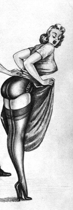 "Look to my ass! - Illustration by Gene Bilbrew - Board ""Art - Gene Bilbrew"" -"