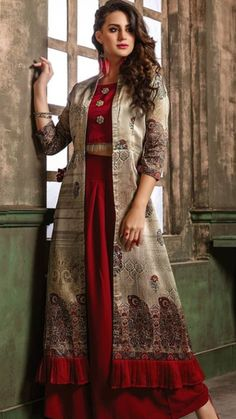 Party Outfit Winter Dress Pants New Ideas New Dress Pattern, Dress Patterns, Trendy Dresses, Casual Dresses, Fashion Dresses, Long Jacket Dresses, Dress Long, Long Jackets For Women, Kurti Designs Party Wear