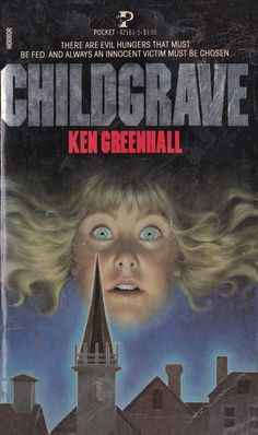 '70s and '80s Horror Books and their Covers | Cover by Lisa Falkenstern from Childgrave by Ken Greenhall, Pocket Books, 1982  #vintage #horror #books