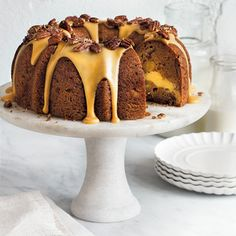 Freshly Picked: Our Favorite Apple Recipes | Apple-Cream Cheese Bundt Cake  | MyRecipes.com