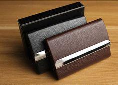 TROY - kožený luxusný vizitkár (čierna farba) Card Case, Wallet, Cards, Maps, Playing Cards, Purses, Diy Wallet, Purse
