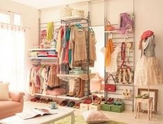 girls room set up li