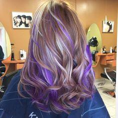 Pravana purple highlights: