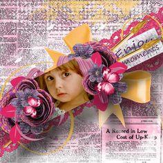 """Page réalisée avec le nouveau kit de Pat's Scrap """"Paradise Art"""" (RAK Maria Gvedashvili) : http://www.digi-boutik.com/boutique/index.php?main_page=index&manufacturers_id=127"""