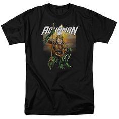Aquaman: Beach Sunset T-Shirt