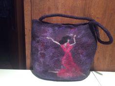 Filcowana torebka, felted bag, borsa in feltro