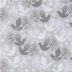 gray birds snowflakes fabric hobby lobby sales christmas fabric santa christmas