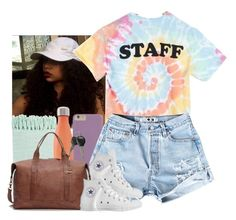 """""""Camp Counselor """" by jemilaa ❤ liked on Polyvore featuring Camp Collection, Surya, S'well, Converse and Frye"""