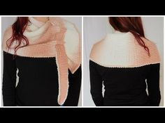 Tricotin - Echarpe Chenille / Pfeilraupe I Loom Knitting - YouTube