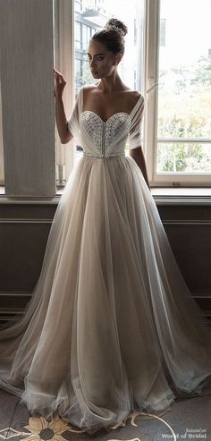 Best A-Line Wedding Dress: Elihav Sasson 2018 Wedding Dress TrendyIdeas.net | Your number one source for daily Trending Ideas