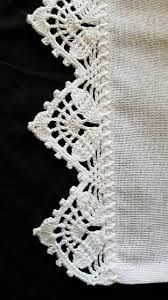Resultado de imagem para entremeios crochet MILLE A MINUTE #CrochetEdging