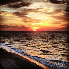 Sunrise in Myrtle Beach, South Carolina