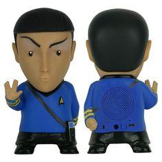 BLOG DOS BRINQUEDOS: Star Trek Mr. Spock Bluetooth Speaker