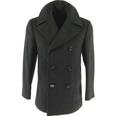 In Gloverall Reefer Peacoat 36 Menswear Classic Superior Quality
