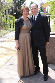 Mother of the Bride Dress... Bronze- by David's Bridal