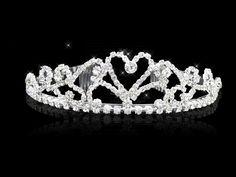 Headpieces - $19.99 - Attractive Clear Crystals Wedding Bridal Tiara (042004259) jenjenhouse.com