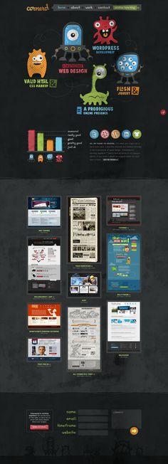 Page webdesign agency site Portfolio Web Design, Design Web, Seo Tutorial, Wireframe, Game App, Seo Marketing, Interface Design, Web Design Inspiration, Cool Designs