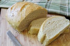 Herb and Olive Oil Crusted Bread