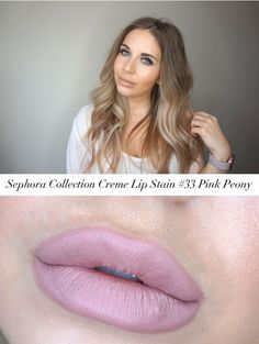 Sephora Collection Cream Lip Stain in #33 Pink Peony