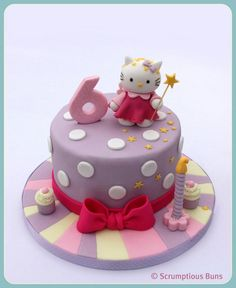 .hello kitty birthday cake