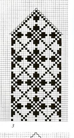 801417eff0c3ef36a8c807382d159aa1 (268x500, 144Kb) Knitted Mittens Pattern, Fair Isle Knitting Patterns, Knit Mittens, Knitting Charts, Weaving Patterns, Wedding Cross Stitch Patterns, Cross Stitch Borders, Cross Stitch Charts, Cross Stitching