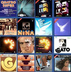 Capas de LPs das novelas da Rede Globo ( 1975 a 1979 )