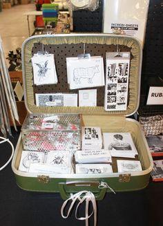 Suitcase storage idea
