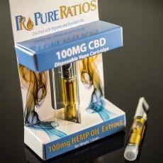 Pure Ratios 100mg CBD cartridge