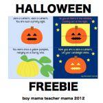 Boy Mama: Jack-o-Lantern, Jack-o-Lantern Song and Book (Freebie!)