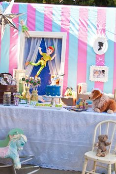 {A Never Never Land Inspired} Peter Pan 4th Birthday!