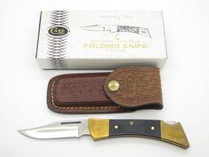 1984 CASE XX 2159 HAMMERHEAD FOLDING HUNTER LOCKBACK KNIFE & SHEATH Hunting Knives, Hunting Guns, Folding Pocket Knife, Folding Knives, Red Bone, Case Knives, Knife Sheath, Custom Knives, Knife Making
