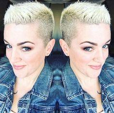 Von einer kurz geschnittenen Frisur zu einem superkurzen Schnitt: der Buzzcut! - Neue Frisur