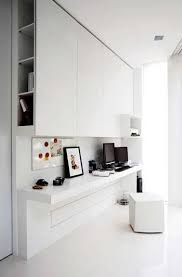 Gloss white study nook