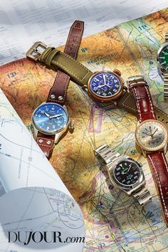 out—our favorite this season are inspired by aviation. Men's Watches, Watches For Men, Iwc, Aviation, Fashion Accessories, Seasons, Inspired, Design, Style